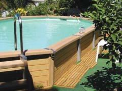 piscine bois composite azteck hors sol. Black Bedroom Furniture Sets. Home Design Ideas