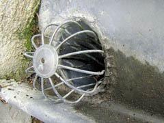Gouttière-tuyau descente zinc