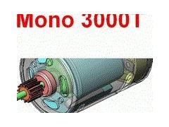 Moteur electrique monophasé 3000tr/min
